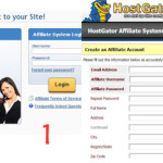 Singup Hostgator Affiliate